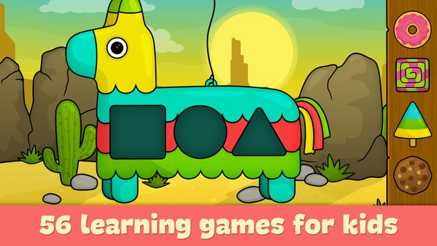 Learning games for toddlers age 3 poster