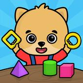 学习计数,形状和颜色 - 为孩子们免费教育游戏 图标