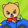 Trò chơi xe hơi dành cho trẻ biểu tượng