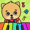 베이비 피아노 유아 및 어린이용 아이콘