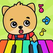Bebek piyanosu – çocuklar için öğretici oyunlar