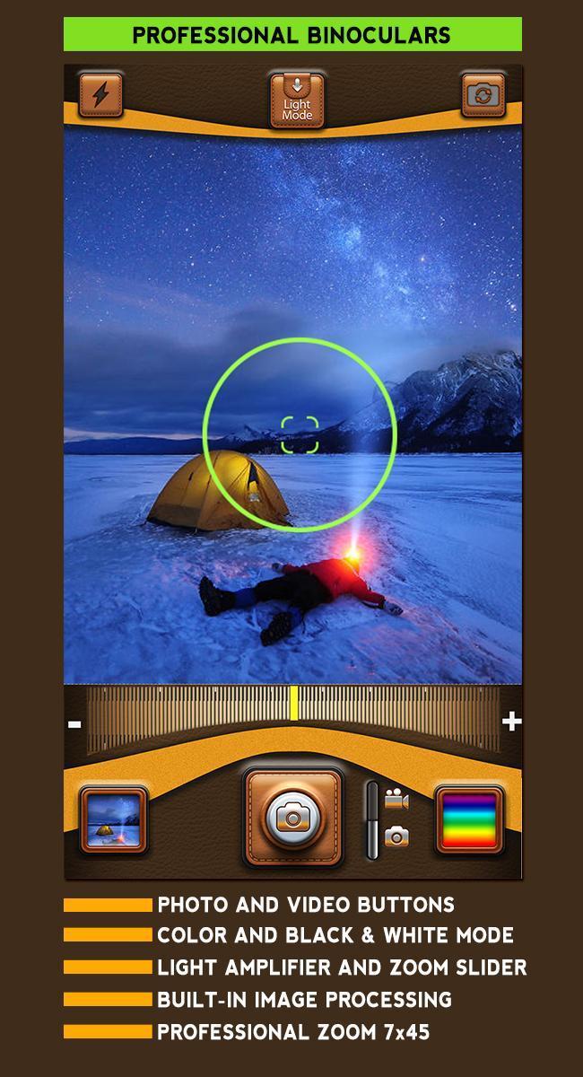 chụp macro thu phóng hai mắt 7x45 cho Android - Tải về APK