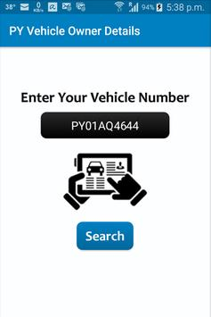 PY Vehicle Owner Details poster