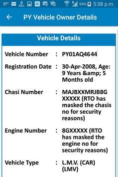 PY Vehicle Owner Details screenshot 2