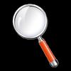 Vergrootglas-icoon
