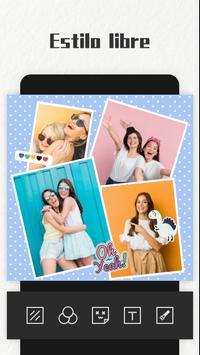 Photo Collage Maker captura de pantalla 2