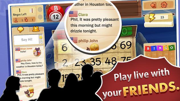 BINGO Club -FREE Holiday Bingo screenshot 1