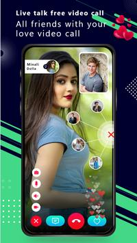 Live Talk - free Video call screenshot 1