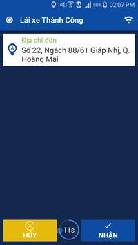 Lai xe taxi Thanh Cong screenshot 1