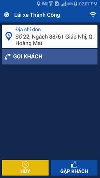 Lai xe taxi Thanh Cong screenshot 2