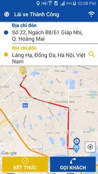 Lai xe taxi Thanh Cong screenshot 3