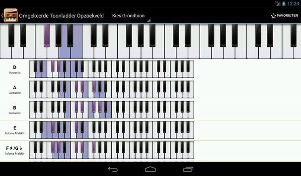 Piano Companion PRO:akkoorden screenshot 17