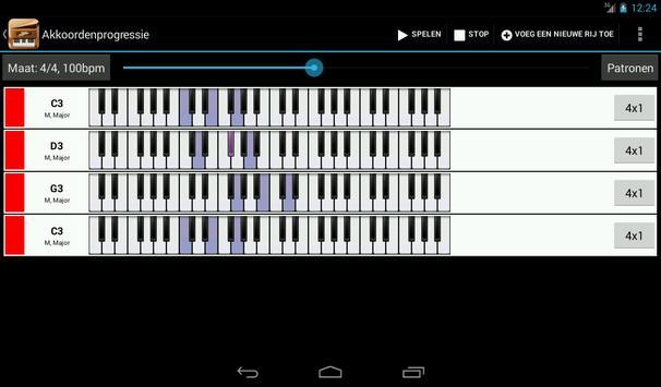 Piano Companion PRO:akkoorden screenshot 12