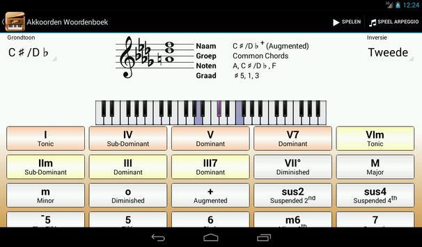 Piano Companion PRO:akkoorden screenshot 13