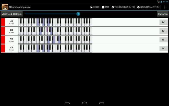 Piano Companion PRO:akkoorden screenshot 6