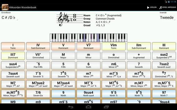 Piano Companion PRO:akkoorden screenshot 7