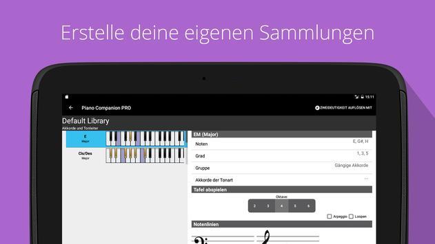 Piano Companion PRO: Akkord Screenshot 9