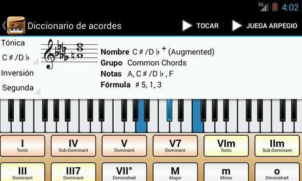 Piano Companion PRO: acordes Poster