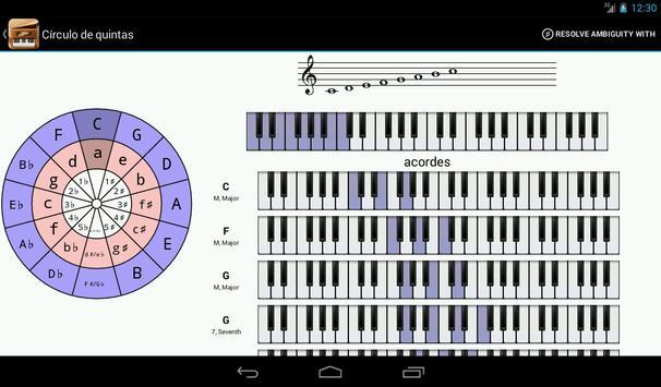 Piano Companion PRO: acordes captura de pantalla 15