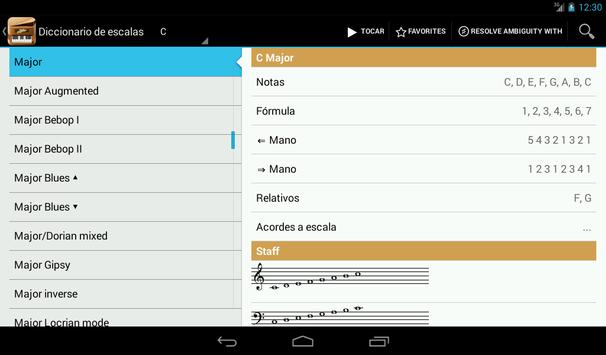 Piano Companion PRO: acordes captura de pantalla 13
