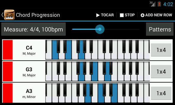 Piano Companion PRO: acordes captura de pantalla 1