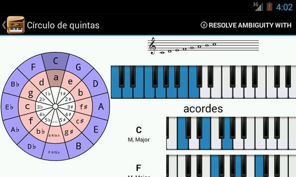 Piano Companion PRO: acordes captura de pantalla 2