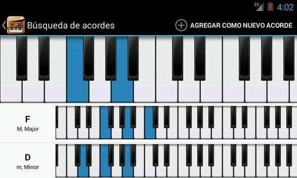 Piano Companion PRO: acordes captura de pantalla 4