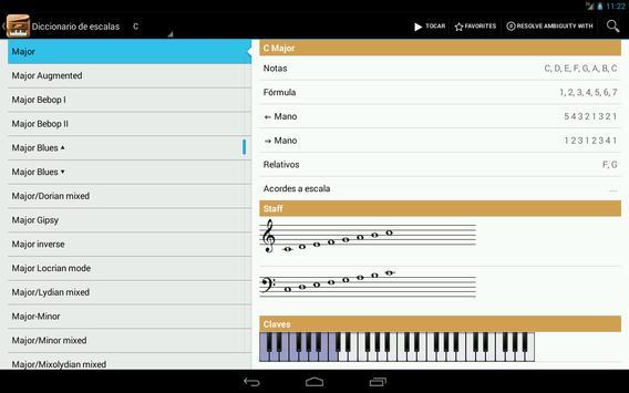 Piano Companion PRO: acordes captura de pantalla 7