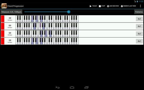 Piano Companion PRO: acordes captura de pantalla 8