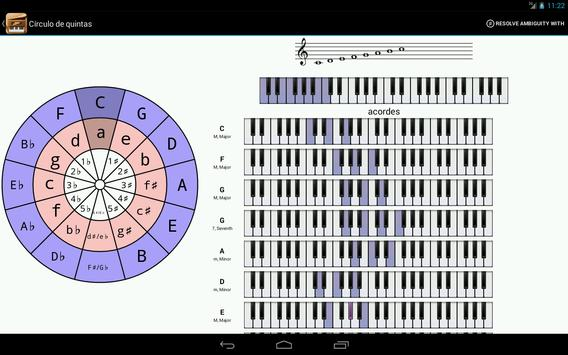 Piano Companion PRO: acordes captura de pantalla 9