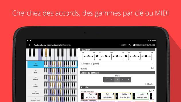 Le compagnon de piano PRO capture d'écran 11