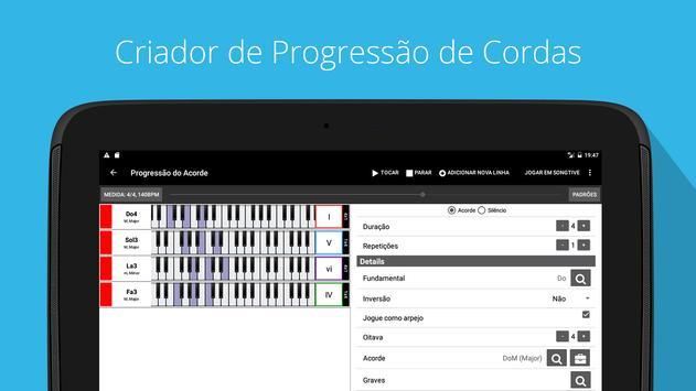 Piano Companion PRO: acordes imagem de tela 7