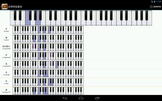 Piano Companion PRO: 钢琴和弦和规模 截图 10