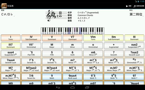 Piano Companion PRO: 钢琴和弦和规模 截图 6