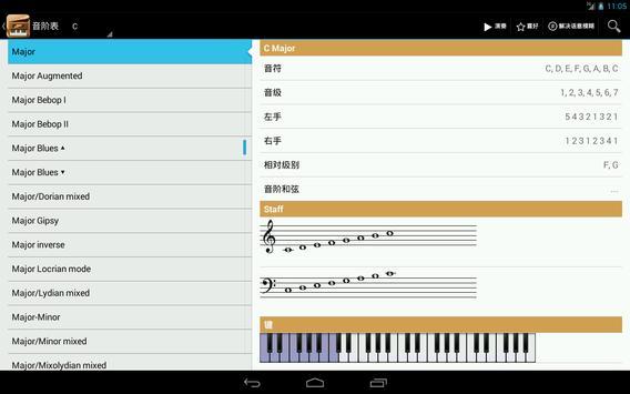 Piano Companion PRO: 钢琴和弦和规模 截图 7