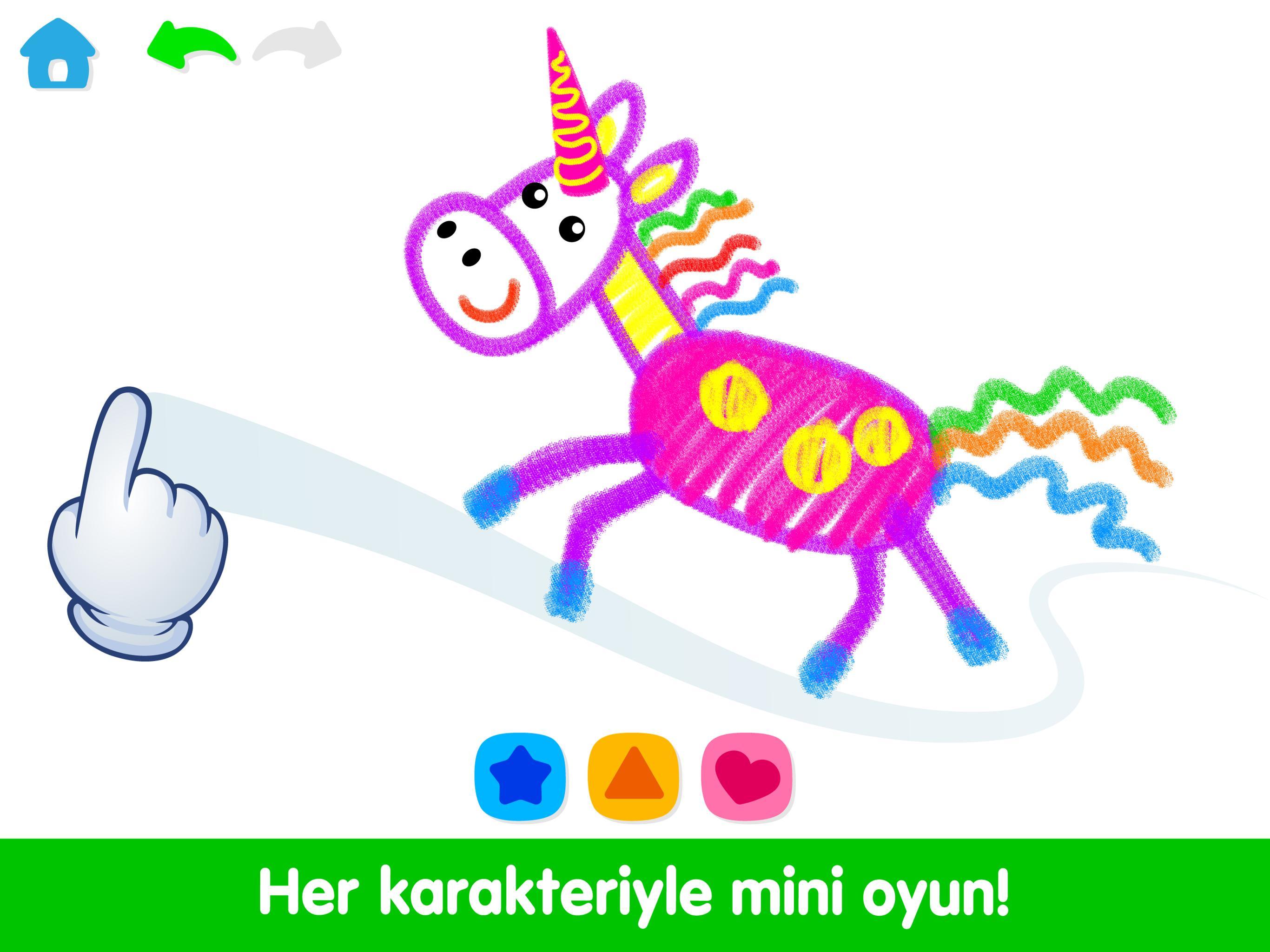 Android Icin Egitici Cocuk Oyunlari Bebek Boyama Oyunu