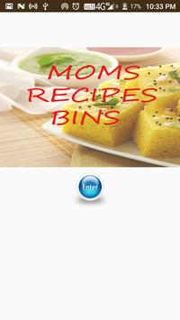 MOMS RECEIPE poster