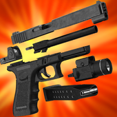 Gun Builder 3D Simulator icon