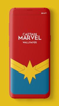 Captain Marvel Wallpaper poster