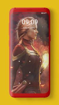 Captain Marvel Wallpaper screenshot 4