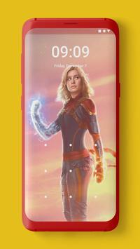 Captain Marvel Wallpaper screenshot 5
