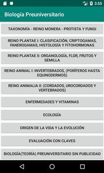Biología Teoría Gratis screenshot 2