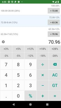 Calculator - Tax, VAT, GST and Sales Ekran Görüntüsü 5