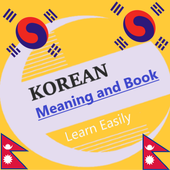 Korean to Nepali Meaning and Book icon