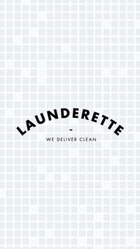 Launderette poster