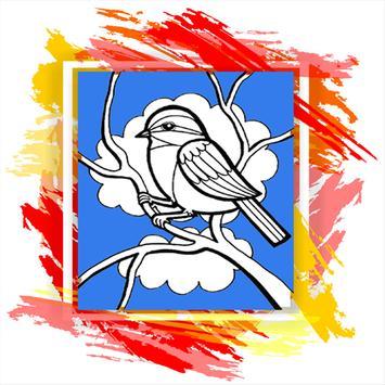 Bird Color poster