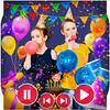 Happy Birthday Photo Effect Video Animation Maker icon