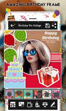 Happy Birthday : Cake, Status, Card & Photo Frame screenshot 3