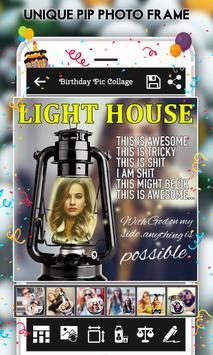 Happy Birthday : Cake, Status, Card & Photo Frame screenshot 5