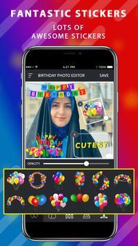 Aniversário Moldura De Foto 2020, Foto Editor 2020 imagem de tela 4